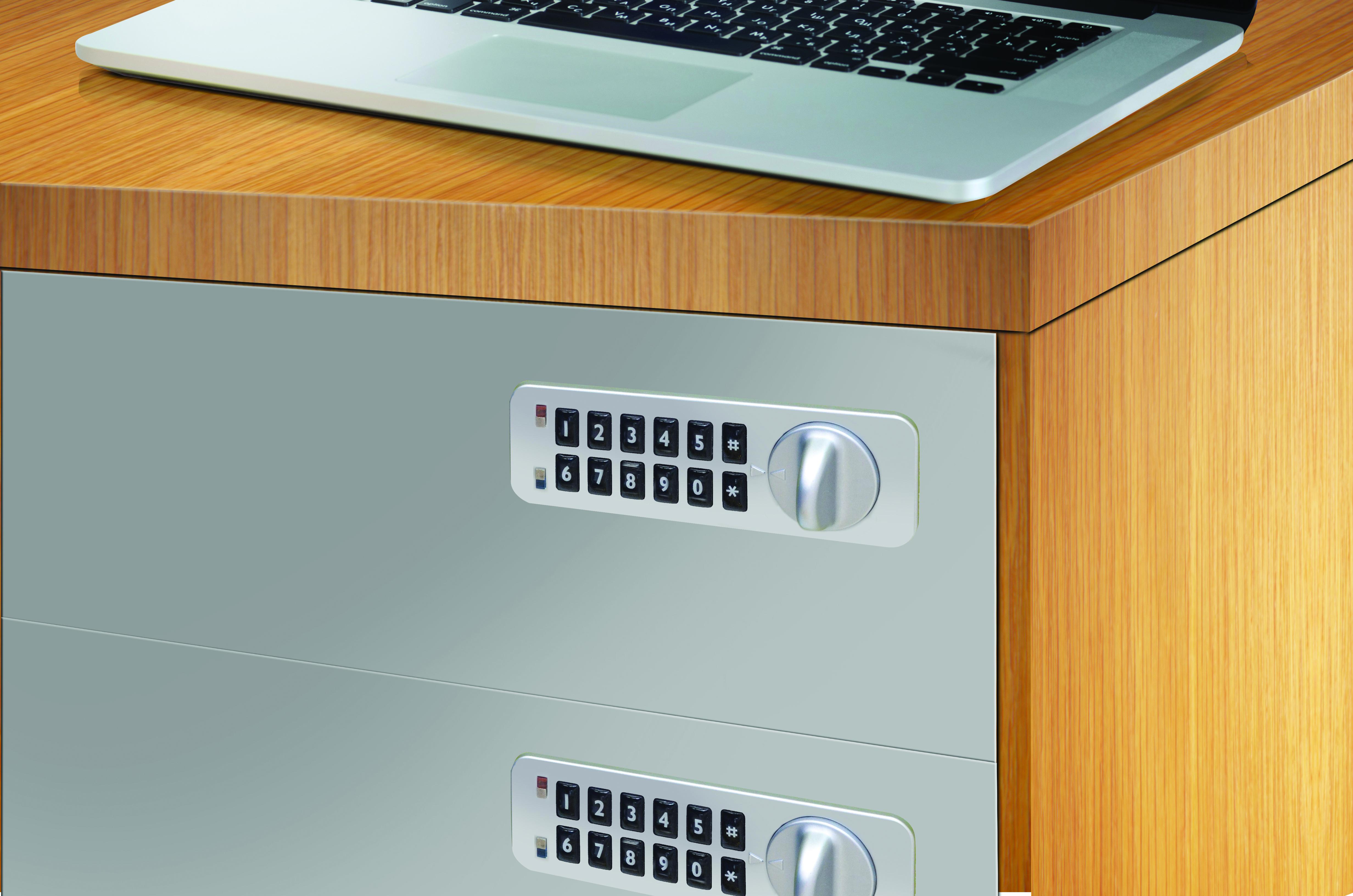 Filing cabinet lock